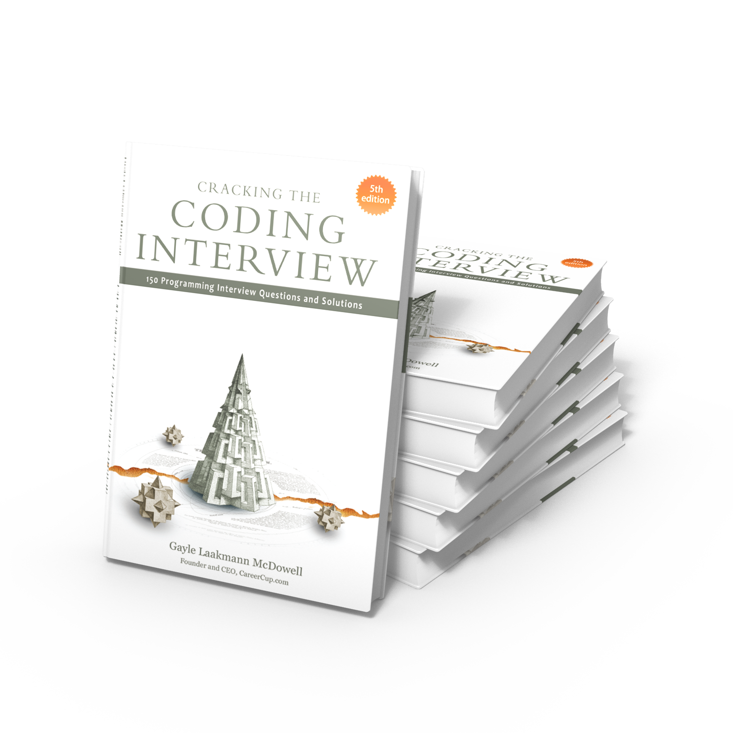 officially on sale cracking the coding interview 5th edition