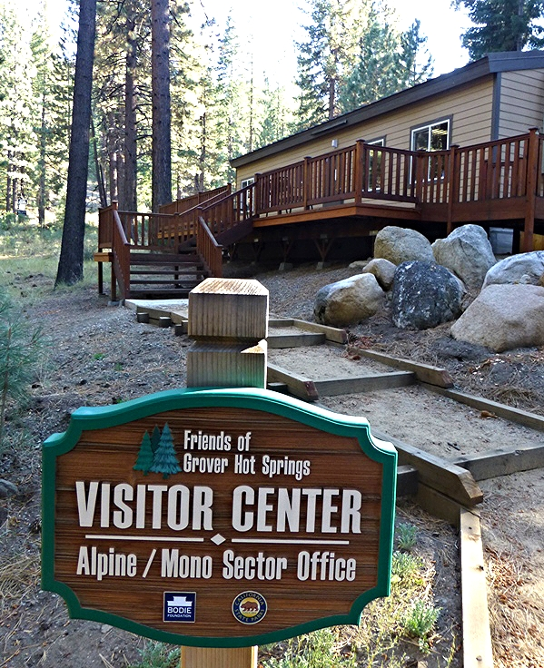 Grover Hot Springs Visitor Center