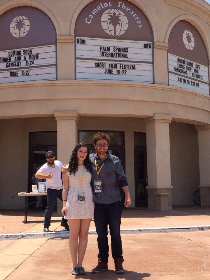 Fabio and Diana…and me!
