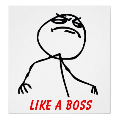 "Tweeter ""Like a Boss"""