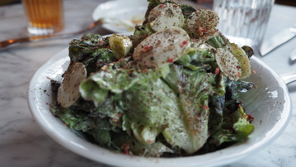 Salad at Bavel in DTLA