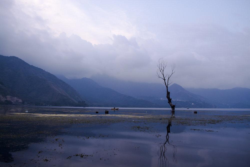 Lake Atitlan. Guatemala.