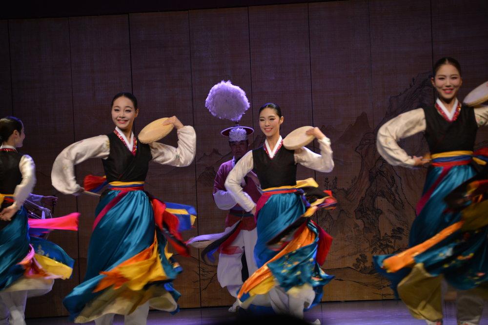 Traditional Korean Dance.