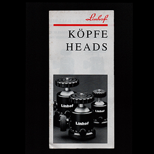 Linhof Kopfe Heads 1993_German + English Language