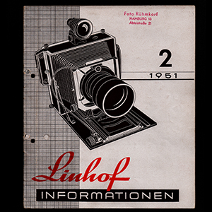 Linhof Informationen 2 - 1952_German Language