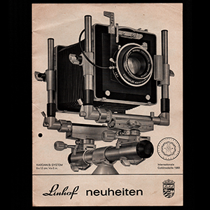 Linhof neuheiten 1968_German Language