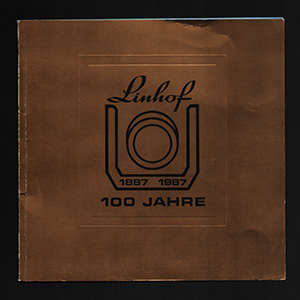 Linhof 100 JAHRE 1887-1987 Book_German + English Language