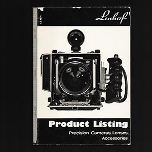 Linhof Products Listing Catalog 1974_English Language