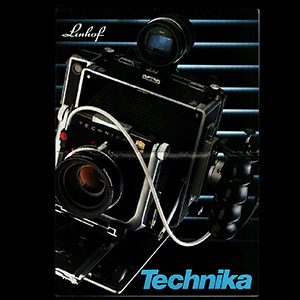 Linhof Technika System 4x5 6x9 Brochure 1991_German + English Languages