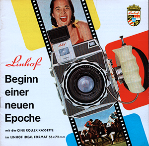 Linhof Beginn einer neuen Epoche German Language 70mm Film Cine Rollex 1960