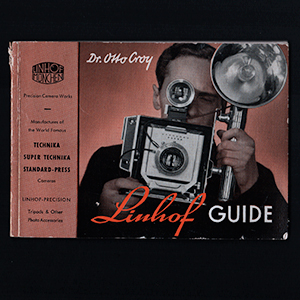 Linhof Guide Dr. Otto Croy Technika III English Language 1952
