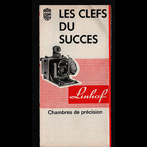 Linhof Les Clefs Du Succes Brochure 1964 French Language