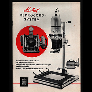 Linhof Reprocord-System Brochure 1966 German Language