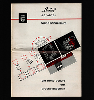 Linhof Seminar 1967 tages-schnellkurs Die hohe schule der grossblidtechnik program schedule German Language
