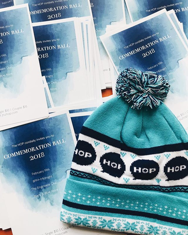 Sad you missed our hat giveaway last semester? Come find out more about Commemoration Ball  and grab a hat on MSE Q level!