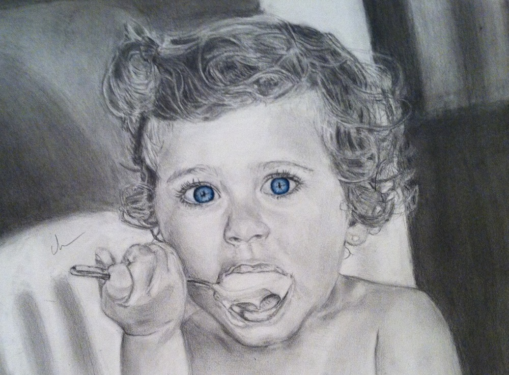 Graphite Pencil, Colored Pencil