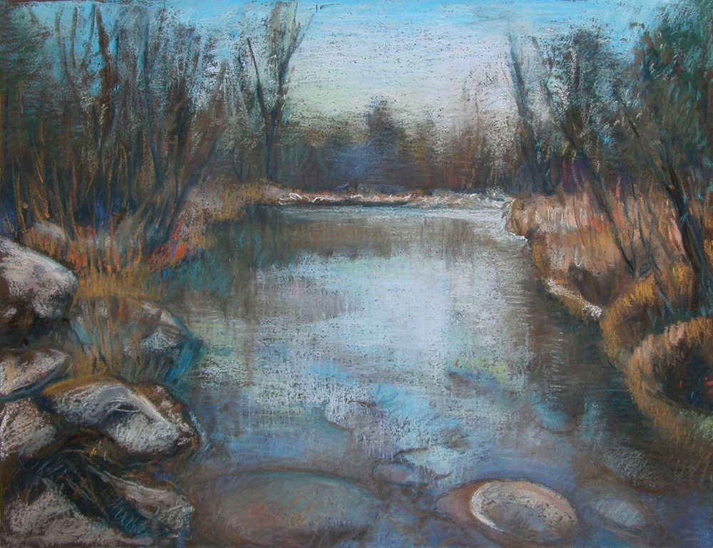Huron River, November