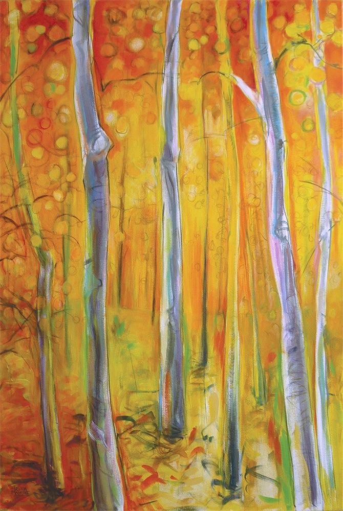A Walk In Yellow II