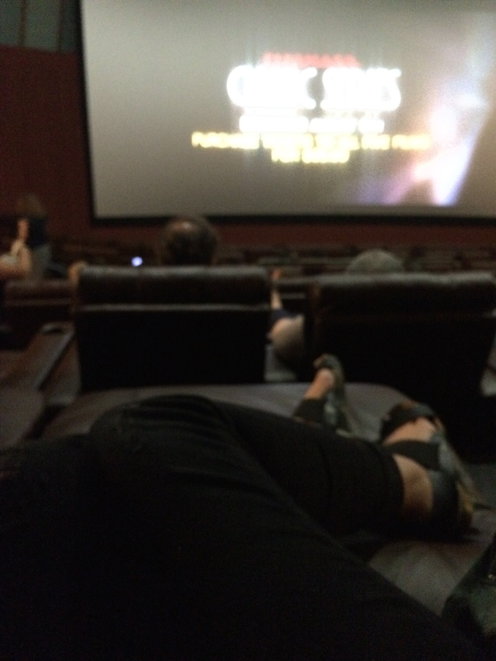 The most comfortable movie theater.