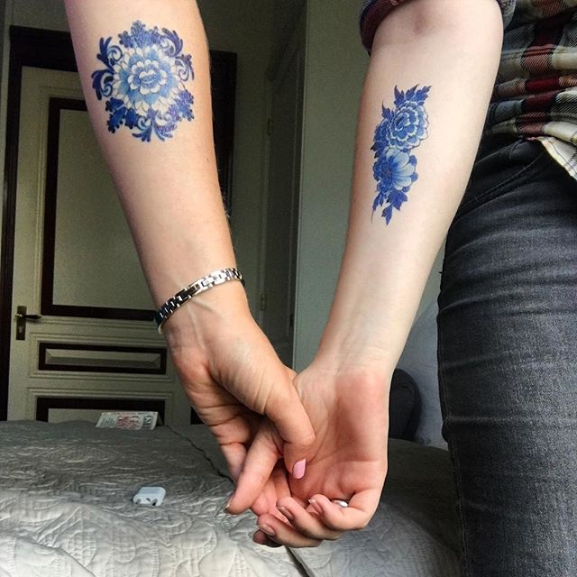 Fresh ink #delft #temporary @tattoorary_com @heatherecrowley