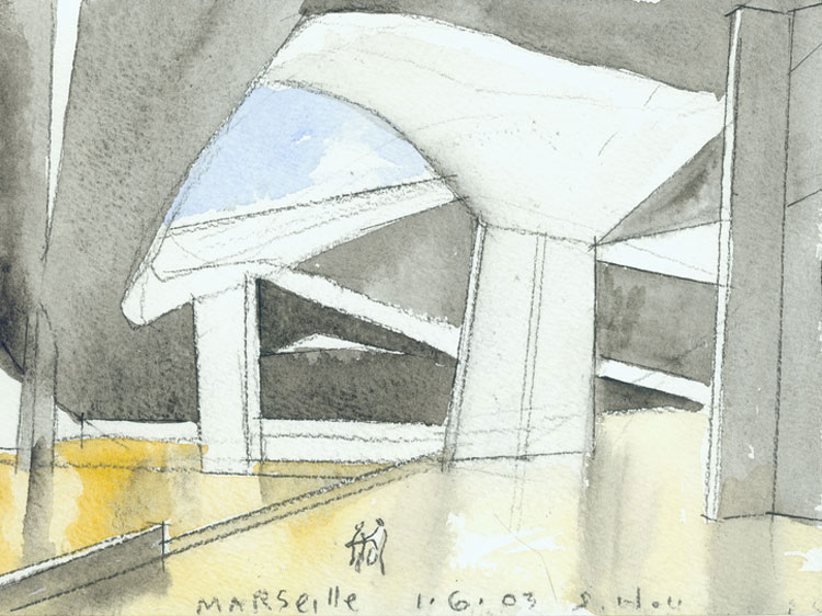 Marseille, 2003 Source: http://www.stevenholl.com/painting.php