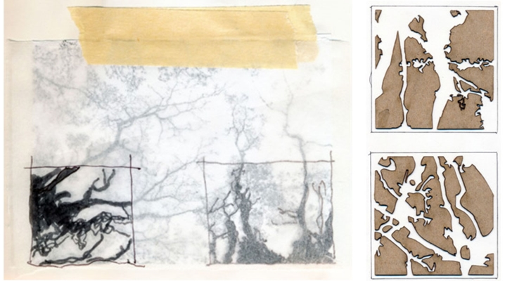 Masking Device Studies by Emily Green, 2014