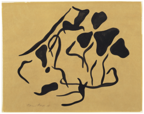 Jean (Hans) Arp, Automatic Drawing, 1916-17