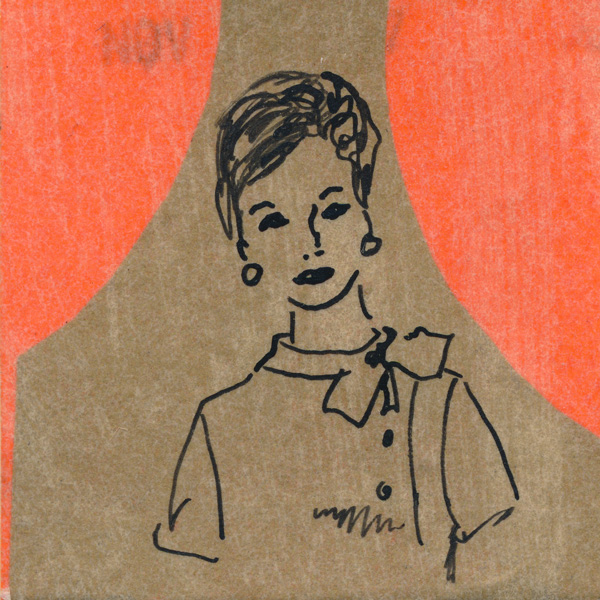 """I illustrated the covers of home sewing patterns,"" Jeanette C. Schudmark says, ""A job I enjoyed for many years."""