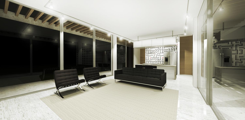 Interior da residência