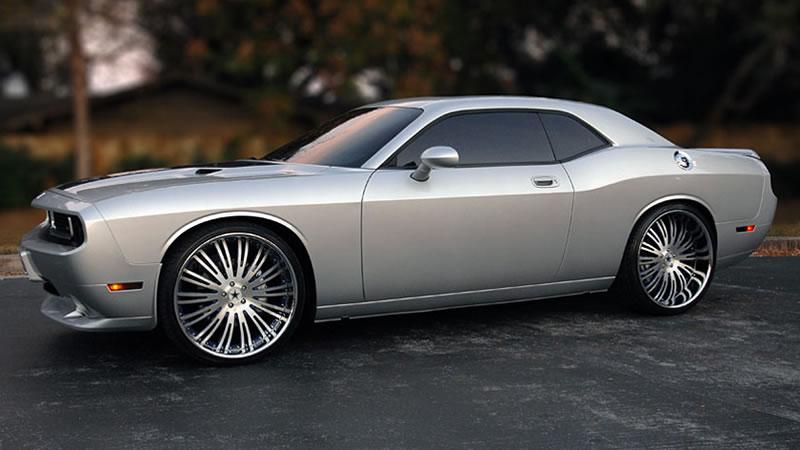 2008 Silver Dodge Challenger SRT8