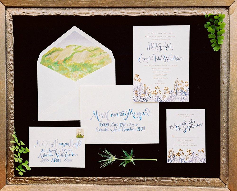 Carolina Bride Invitation Suite