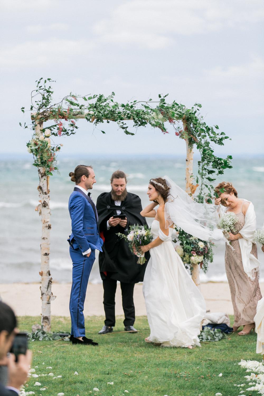 Sable and Gray Custom Wedding Invitation Suite