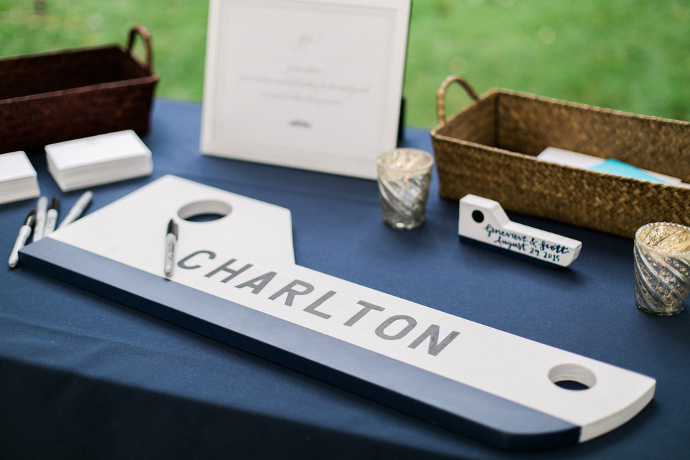 Sable and Gray Custom Table Numbers