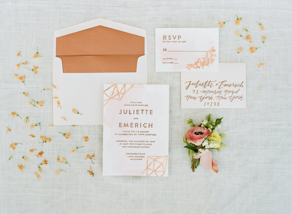 Custom Invitation Design by Sable and Gray