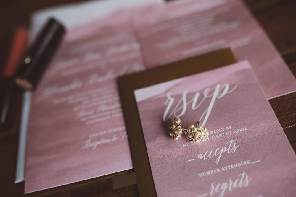 Custom Wedding Invitation by Sable and Gray - Pat Cori Photography