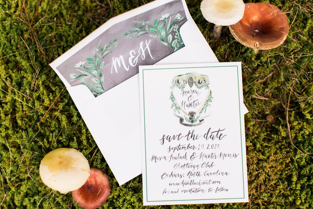 Sable and Gray - Custom Save the Date