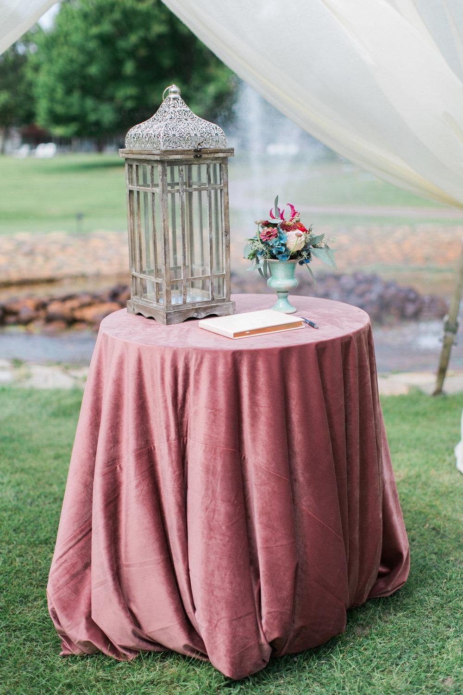 Sable and Gray Custom Wedding Invitation