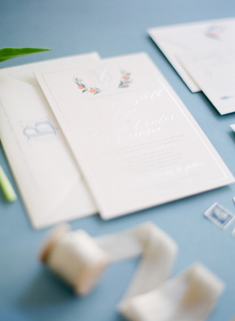 Custom Wedding Invitation by Sable and Gray