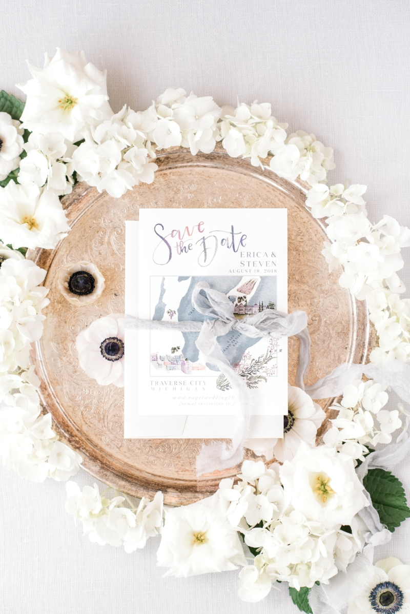 Custom Save the Date by Sable and Gray