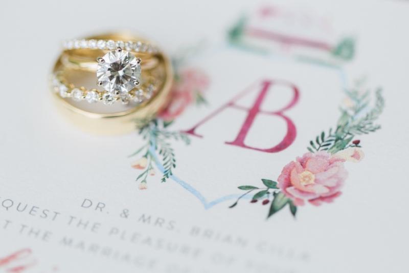 Custom Acrylic Wedding Invitations by Sable & Gray