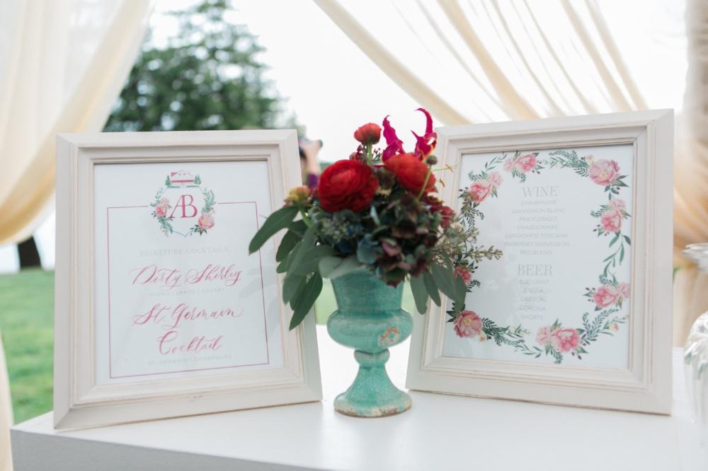 Custom Wedding Signs by Sable & Gray