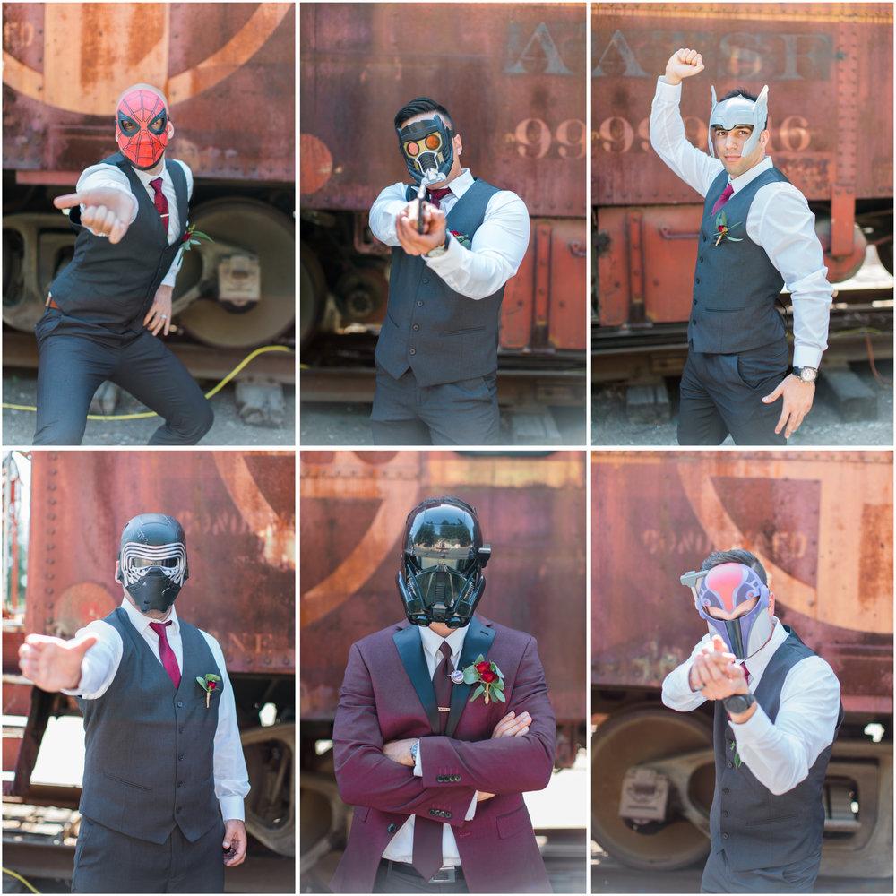 Groomsmen in Masks.jpg