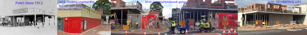 Another historic building in Beaufort Street - NOW TOTALLY GONE - 1912 - 2016