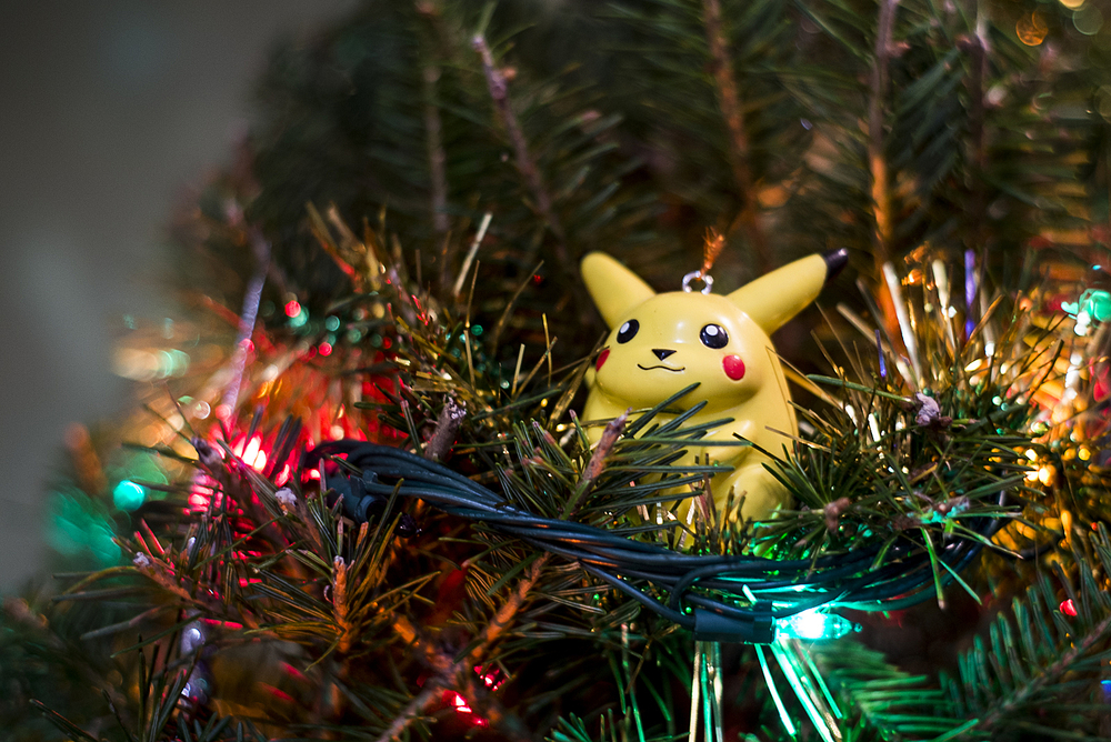 Yes, we have a Pikachu ornament.
