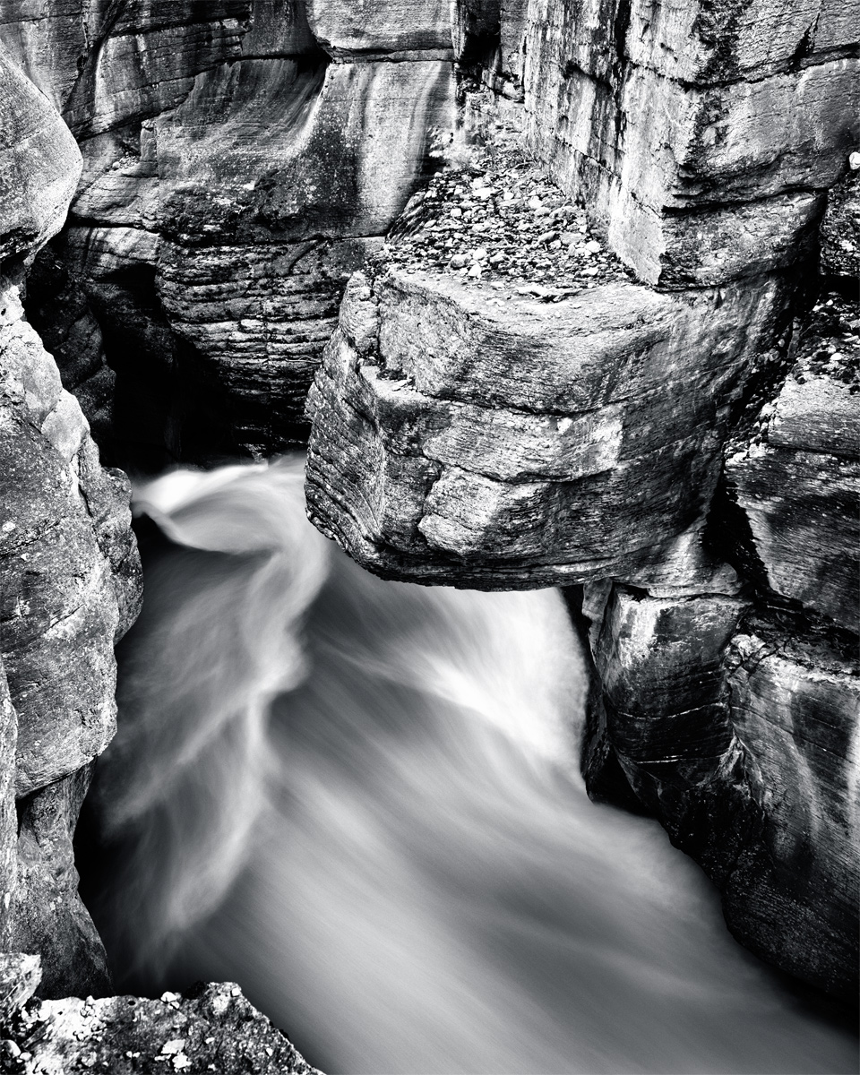 Paul's fine art capture of Mistaya Canyon
