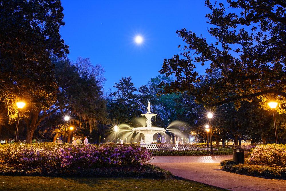 Forsyth Park © Paul Nguyen