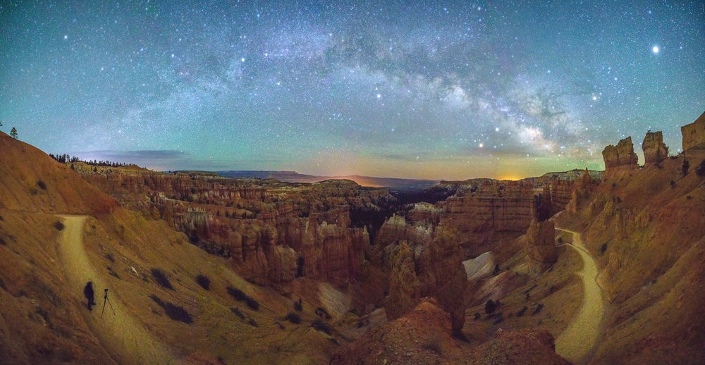 A cool panorama of the entire Milky Way center © Paul Nguyen