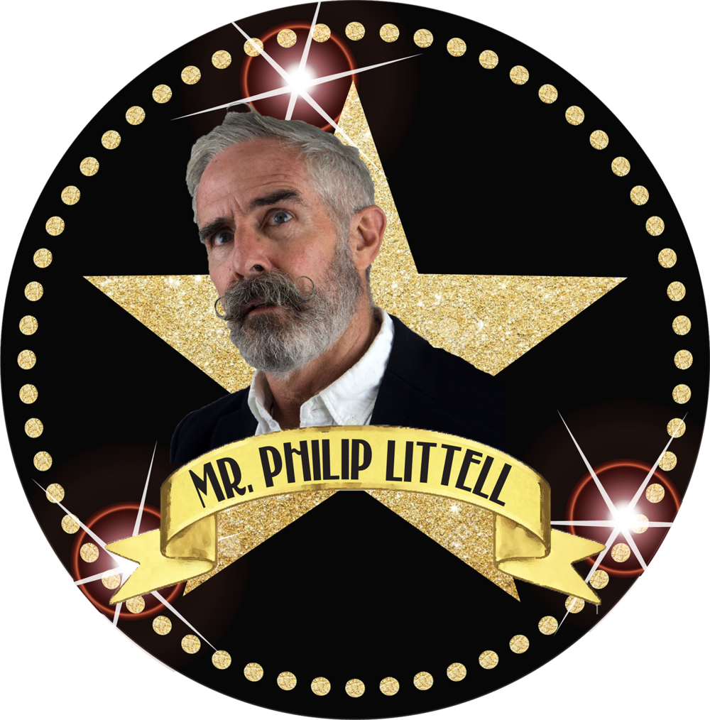 "Philip Littell Is often Misspelled. Misplaced, Misbegotten, The top And the bottom. An actor and playwright And singer and clown, Sometimes he's up- But mostly down-town. His work has filled nightclubs And places called ""spaces"", All manner of theaters And opera stages. A Gawdafful Player To the Depth of his Core, He leaps to his feet Clapping, shouting ""ENCORE!""."