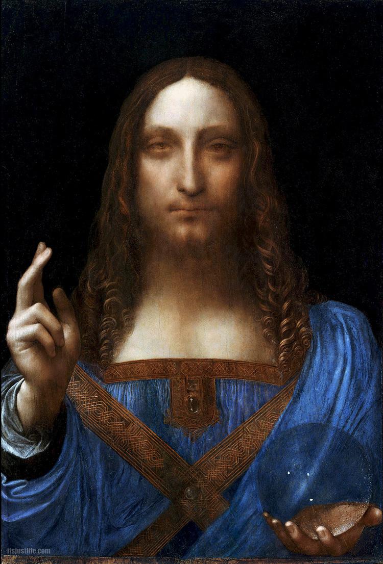 Salvator Mundi   c. 1490-1519    Oilonwalnut    45.4cm ×65.6cm (25.8in ×17.9in)    Private collection, New York City