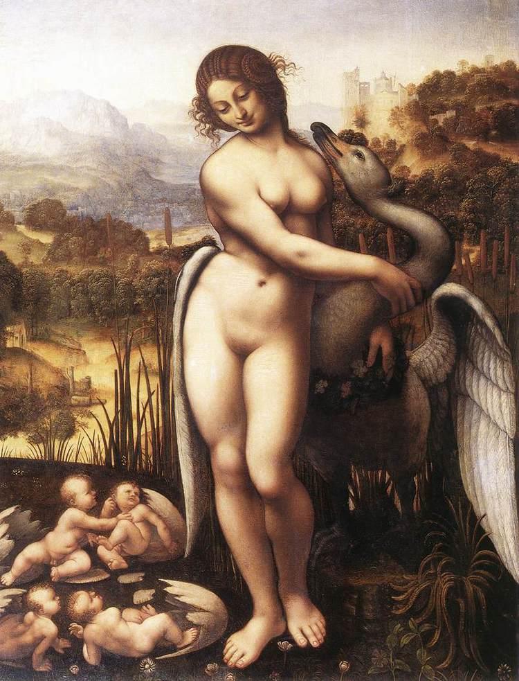 Cesare da Sesto  c. 1515-1520  Oil on canvas  Wilton house, England